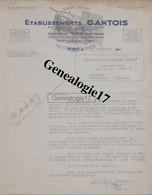 88 0706 SAINT DIE VOSGES 1941 Toiles Metalliques GANTOIS Grillages ( Bons Matieres  Rationnement )  à MASTEAU FRERES - 1900 – 1949