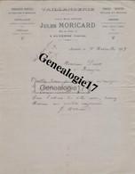 89 0274 AUXERRE YONNE 1929 Taillanderie JULES MORICARD Rue Du Pont Succ Maison CHEVILLON Tonnellerie Boissellerie - 1900 – 1949
