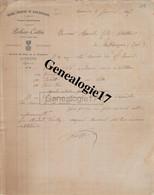 89 0471 AUXERRE YONNE 1897 Pepiniere De Basse Bourgogne POTHIER COTTIN Vignes Americaines Avenue Du Pont De Tournelle - 1800 – 1899