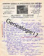91 0177 CORBEIL ESSONNES 1935 Demenagements ALFRED DUBOIS Rue Galignant Et Salmon - 1900 – 1949