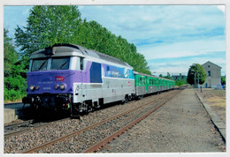 FRANCIA  GRAGNAGUE       TREIN- ZUG- TRAIN- TRENI- GARE- BAHNHOF- STATION- STAZIONI  2  SCAN  (NUOVA) - Trenes