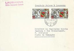 """Sonderstempel  """"Lausanne - Comptoir Suisse""""  (750 Jahre Bern)         1941 - Covers & Documents"""