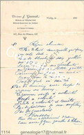 N 03 VICHY ALLIER 19.. DOCTEUR J. GANNAT Medecine Medecin Inspecteur Des Enfants Rue De Nimes - 1900 – 1949
