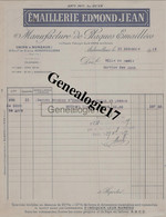 93 0896 AUBERVILLIERS SEINE 1919 Manufacture Plaques Emaillees EMAILLERIE EDMOND JEAN Bd De Stains - Non Classés