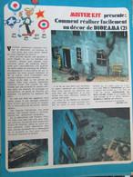 SPI920 Page De SPIROU Années 70 / MISTER KIT Présente COMMENT REALISER UN DECOR DE DIORAMA - Diorama