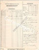 N 61 LAIGLE ORNE 1905 Comptoir Commercial MARAIS Cie à Mr MARIN De Sainte Scolasse Sur Sarthe - Europe