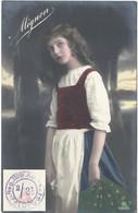 "Feldpost AK  ""Mignon""  (Reg.Mitr.Komp. 2/31)            Ca. 1918 - Abstempelungen"