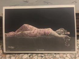 Ancienne Carte Postale Photo érotique Femme Dénudée Le Peplum Reuslirijer Paris 917/4 - Andere Fotografen