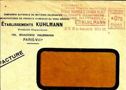 Ema Havas G 1939 Et Kuhlmann Colorants Usine Industrie   C31/27 - Chimie