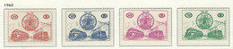 COB   TR 369/372   (MNH)   Cote 190,00 Euros - 1952-....