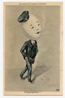 """Illustrateur. A.Muller. La Vocation De L'oeuf De L'aigle  """"   Le Télégraphiste !!   """" Cigarette - Andere Illustrators"""
