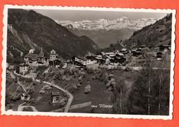 ROH3-06 Anniviers Vissoie, Circulé 1955 Vers Sierre Perrochet 1843 - VS Wallis