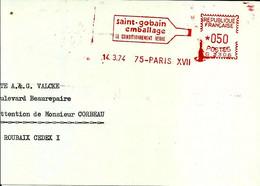 Ema Havas G 1974   Saint Gobain Emballage Bouteille Le Conditionnement Verre Usine Industrie   C31/32 - Factories & Industries
