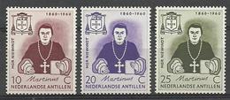 Netherlands Antilles 1960 Mi 106-108 MNH ( ZS2 DTA106-108 ) - Beroemde Personen