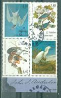 """FRANCE - N° 2920 Oblitéré à 2932 Oblitéré - """"Arts Décoratifs"""" Les Oiseaux De J.-J. Audubon. Se Tenant - Gebruikt"""
