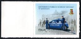 ITALIA 2020: 75° ANNIVERSARIO DELL'ISPETTORATO DI PUBBLICA SICUREZZA VATICANO - EMISSIONE CONGIUNTA CON VATICANO - 2011-20: Neufs