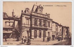 SAINT AMBROIX L'HOTEL DE VILLE 1931 TBE - Saint-Ambroix