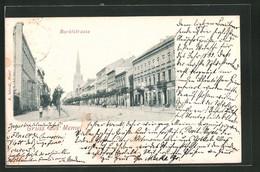 AK Memel, Marktstrasse Mit Blick Zur Kirche - Ostpreussen
