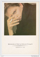 Prix Fixe - Michael J. FOX By Deborah Feingold - Box Office # 17 - Artistas