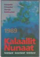 1989 ** GREENLAND (Sans Charn,MNH, Postfris) YEAR PACK    Yv. 177/86 Mi. 189/98 (10v.)  Inc. CHRISTMAS STAMP - Komplette Jahrgänge