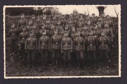 Original - Agfa-Fotokarte: 1. Zug Der 1. Kompanie Im November 1939, Ruhestellung Im Hunsrück : - 1939-45