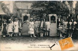 16. CHARENTE - RUFFEC - Fête 18 Septembre 1921. Chaises à Porteurs - Jeunes Seigneurs. - Ruffec