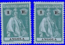 Angola 1913. ~  YT 157* [par 2] - 1 E. Cérès - Angola