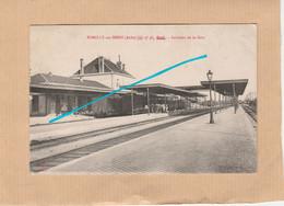 Dept 10 : ( Aube ) Romilly-sur-Seine, Intèrieur De La Gare, Animée. - Romilly-sur-Seine