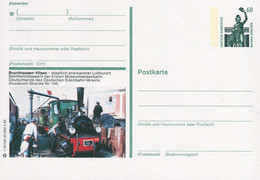 83271) BRD - P 139 - T10/148 - * Ungebraucht - 2814 / 27305 Bruchhausen-Vilsen, Museumsbahn, Dampfzug - Cartoline Illustrate - Nuovi
