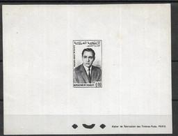 MAROCCO 1962  KING HASSAN AIRMAIL PROOF - Posta Aerea