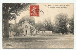 Montgeron  (91 - Essonne) Forêt De Sénart .Le Carrefour - Maison Des Gardes - Montgeron