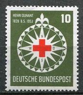 Germany Mi# 164 Ungebraucht Falz/MH - Red Cross - Nuovi