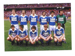 Photo RC Strasbourg (football) - Champion à Lyon En 1979 - Reproductions