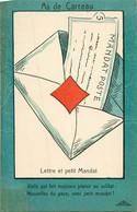 Jeu De Belote , Cartes à Jouer Du POILU ( 1914-1918)  :  As De Carreau - Carte Da Gioco