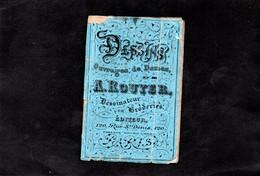 Broderie - Dessins Pour Ouvrages De Dames De A. Rouyer - Stickarbeiten