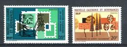 Nouvelle Calédonie - Yvert 411 & 412 ** - Cote 4,70 - NC 51 - Nuovi