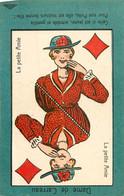 JEU DE BELOTE  : Carte à Jouer Du POILU ( 1914-1918)  : Dame  De Carreau - Carte Da Gioco