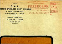 Ema Havas G 1942 Francolor Produit Chimique75 Paris  C31/50 - Chemistry