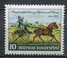 Germany Mi# 160 Ungebraucht Falz/MH - Postal Transport - Nuovi