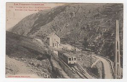 66 - FONTPÉDROUSE - VALLÉE DE LA TÊT - ARRIVÉE DU TRAIN EN GARE - 1917 - ED. LABOUCHE - Francia