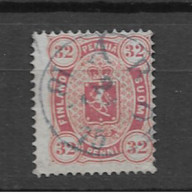 1875 USED Finland Mi 11perf 14:13 1/2 Expertisized - Used Stamps