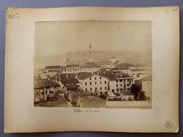"01987 ""BELLUNO IN 12 VEDUTE  - AL VERSO BELLUNO PANORAMA"" FOTO ORIG. - Places"