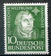 Germany Mi# 149 Ungebraucht Falz/MH - Luther - Nuovi
