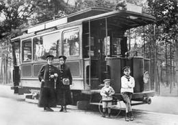 Tram/Strassenbahn Cottbus,Tw 11 An Der Endstelle Südfriedhof, Ungelaufen - Tram
