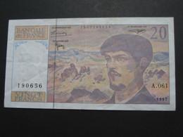 20 Vingt Francs - DEBUSSY - 1997  Alphabet A.061   **** EN ACHAT IMMÉDIAT  **** - 1962-1997 ''Francs''
