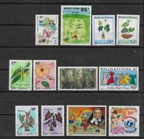 1996  Wallis Et Futuna N° 485 à 496 Nf** MNH. Année Complète ( Sauf PA) - Ungebraucht