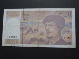 20 Vingt Francs - DEBUSSY - 1997  Alphabet  S.060   **** EN ACHAT IMMÉDIAT  **** - 1962-1997 ''Francs''