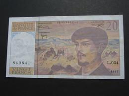 20 Vingt Francs - DEBUSSY - 1997  Alphabet  L.054   **** EN ACHAT IMMÉDIAT  **** - 1962-1997 ''Francs''