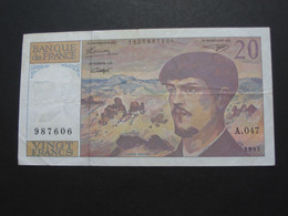 20 Vingt Francs - DEBUSSY - 1995  Alphabet  A.047   **** EN ACHAT IMMÉDIAT  **** - 1962-1997 ''Francs''