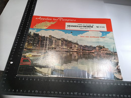 Calendrier 1968 Centre De Secours Grangessur Vologne Sapeurs-pompiers Avec Nos Meilleurs Vœux - Calendari
